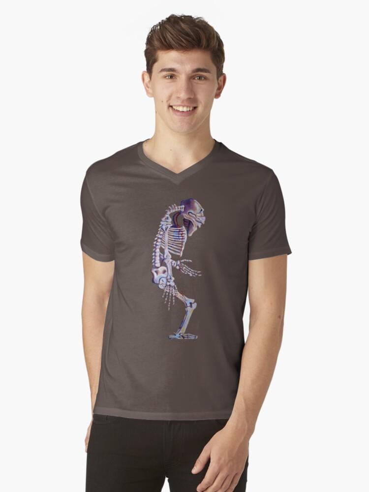 Skeleton centered by Rachelle Dyer