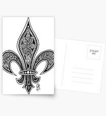 Fleur-de-Lis Postcards