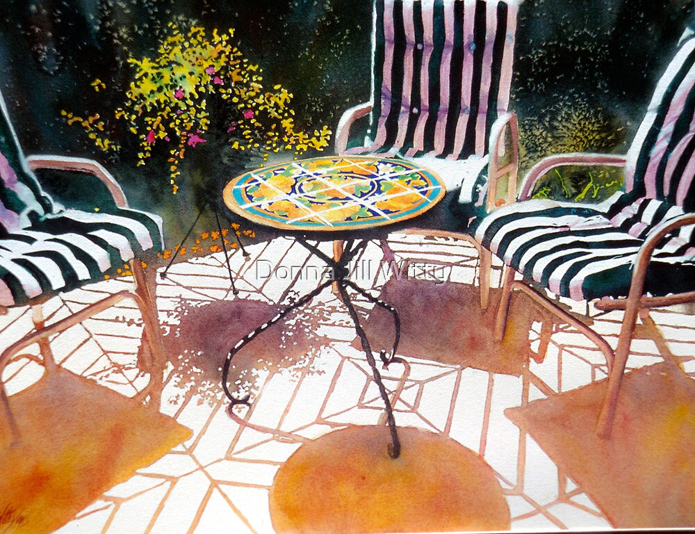Back Porch by Donna Jill Witty