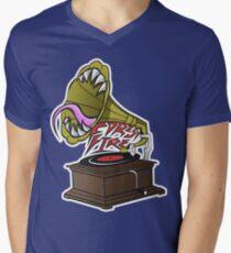 Gramaphone  Men's V-Neck T-Shirt