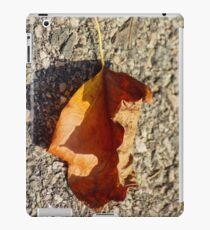 Fall Leaf Shadow iPad Case/Skin