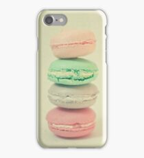 Four Macarons iPhone Case/Skin