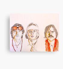 The Darjeeling Limited (Adrien Brody/Owen Wilson/Jason Schwartzman) Canvas Print