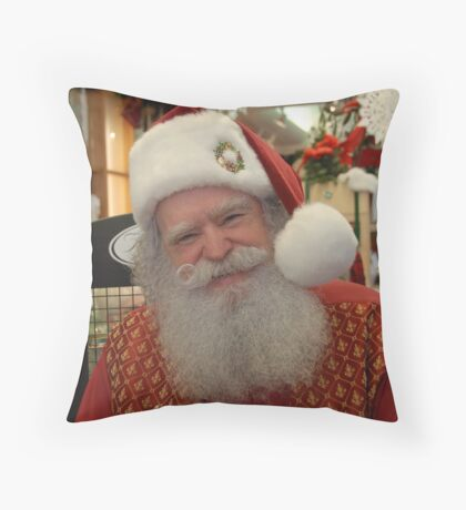 He is real!! Throw Pillow