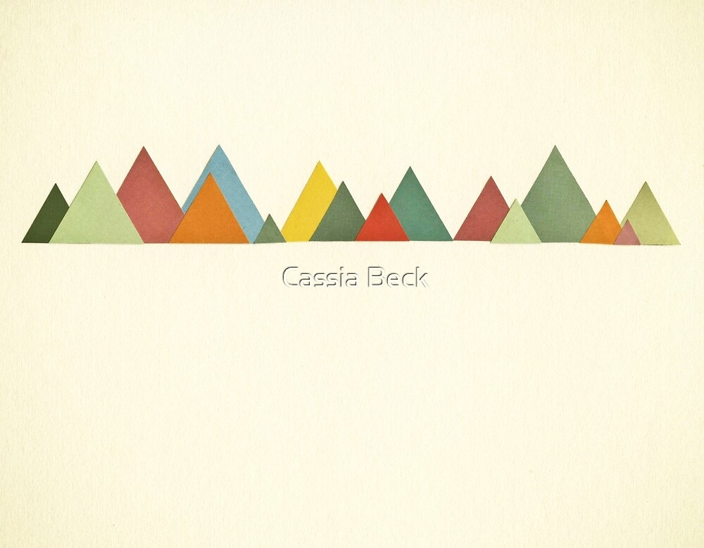 Mountain Range by Cassia Beck