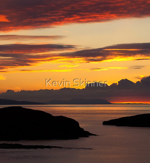 The Far North West - Embers Of The Day by Kevin Skinner
