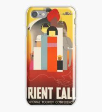 Vintage poster - Oriental Tourist Conference iPhone Case/Skin