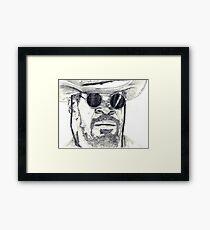 Django (Jamie Foxx) Framed Print