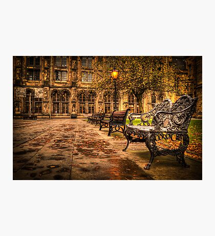 Glasgow University Quadrant Photographic Print