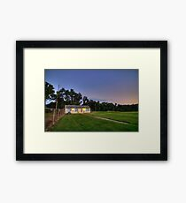 Sunset Monroeville Airport P.A Dawn of the Dead Location IMG 0919 Framed Print