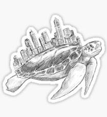 Urban Turtle Sticker