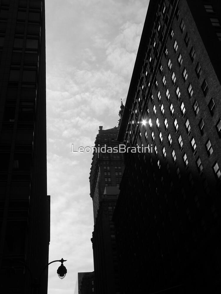 New York City Morning by LeonidasBratini