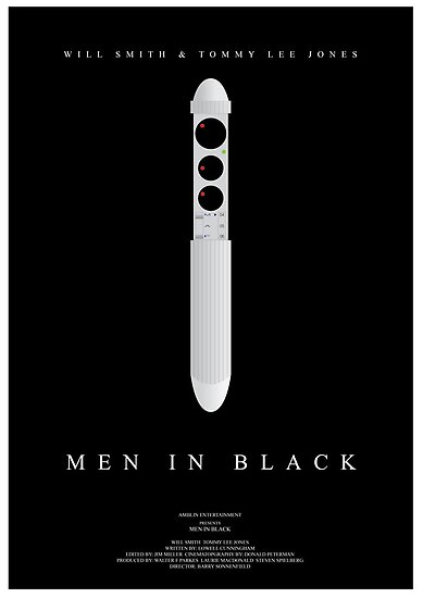 men in black movie poster posters by nick sexton redbubble