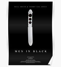 Men In Black Movie Poster Poster