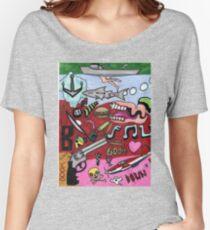 Graffiti  Women's Relaxed Fit T-Shirt