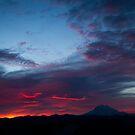 Sunrise on Rainier by James Duffin