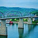 Walnut Street Bridge by Phillip M. Burrow