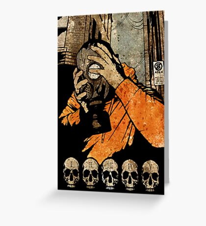 Leroy And The Five Dancing Skulls Of Doom Greeting Card