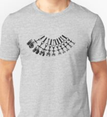 Rock Climbing Necklace Unisex T-Shirt