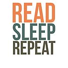 READ. SLEEP. REPEAT. by aimeereads