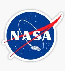 NASA LOGO FALC Sticker