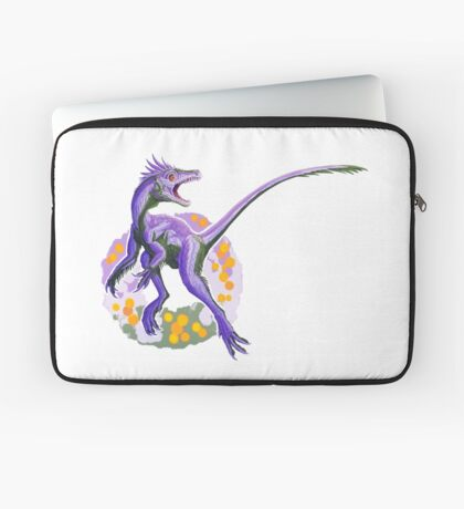 Juravenator (without text)  Laptop Sleeve