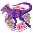 Trigender Torvosaurus (with text)  by R.A.  Faller