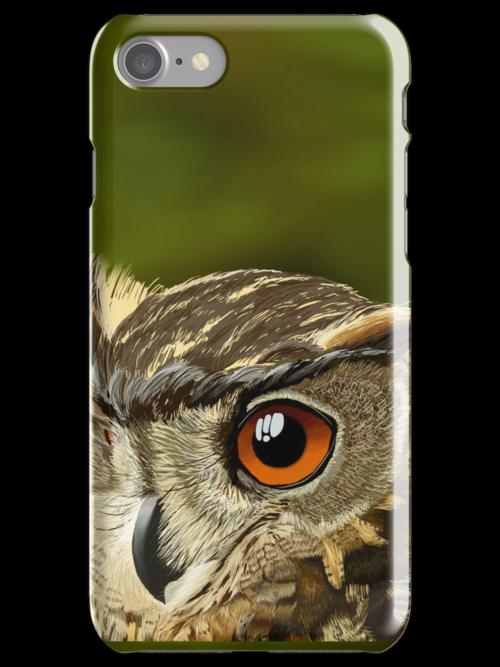 Eurasian Eagle Owl by Dan McKechnie