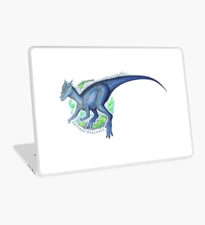 Demiboy Dracorex (with text)  Laptop Skin