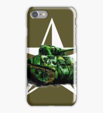 WW2 Sherman Army Tank iPhone Case/Skin