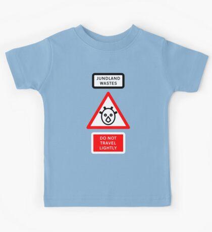 Jundland Wastes Road Sign Kids Clothes