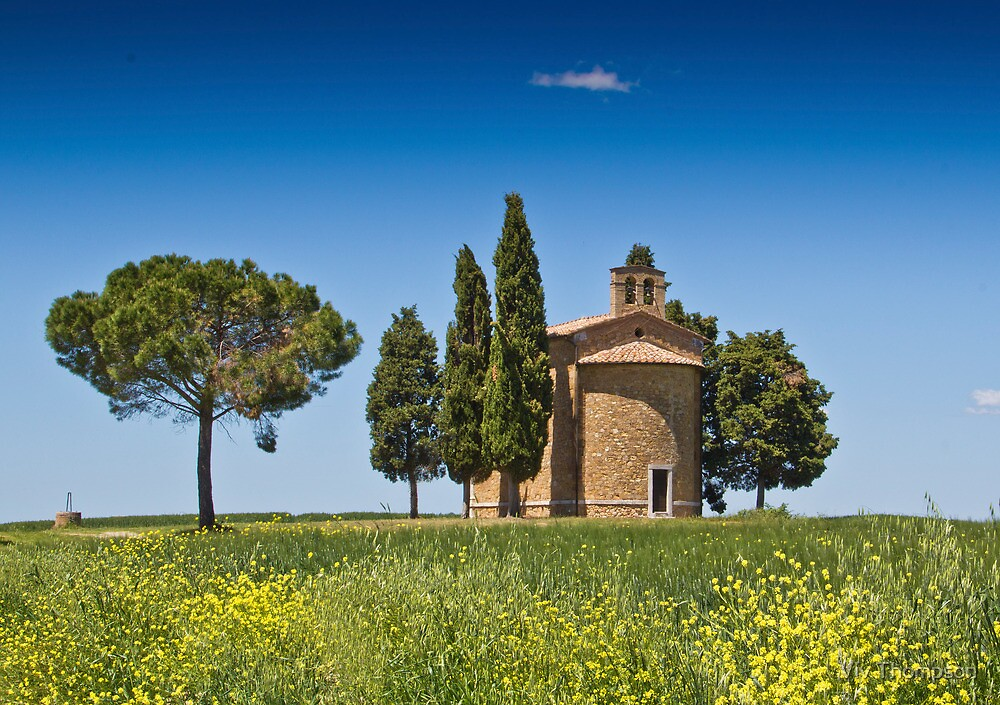 A Chapel In Tuscany by vivsworld