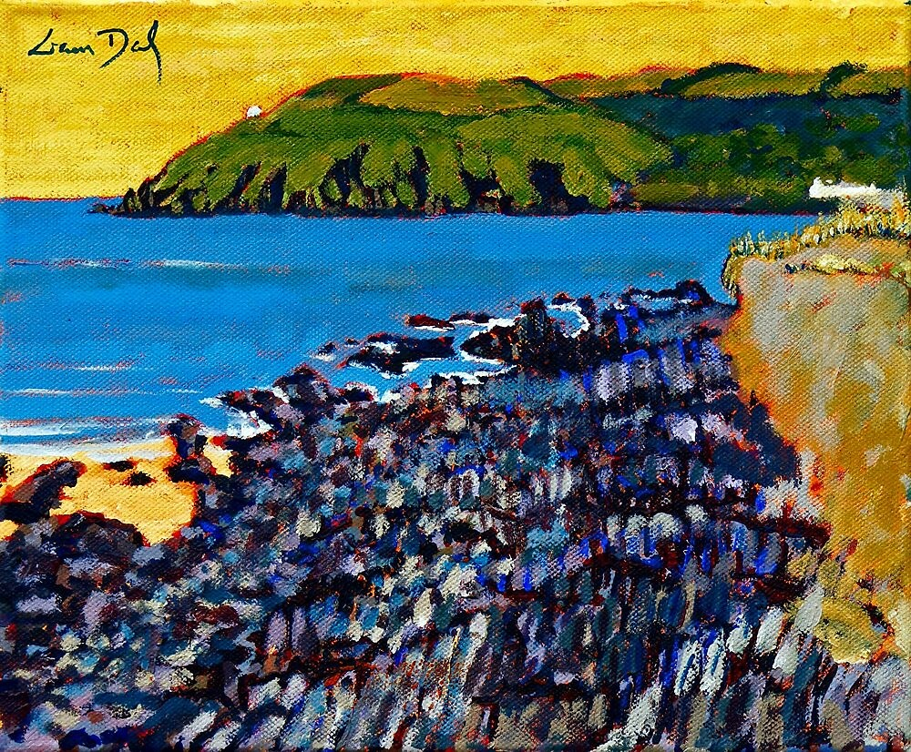 Red Strand Rocks, Cork by eolai