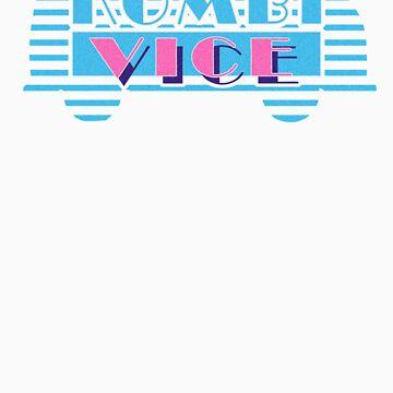 Kombi Vice - Volkswagen teeshirt by KombiNation