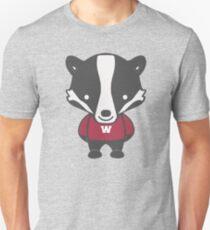 Badger Mascot Chibi Cartoon T-Shirt