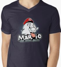 Mario : The Super Ghost Men's V-Neck T-Shirt