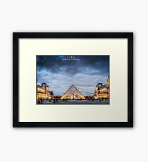 Musee du Louvre Framed Print