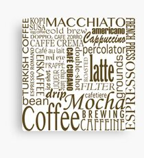 Coffee - All the Coffee Canvas Print