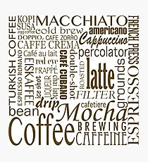 Coffee - All the Coffee Photographic Print