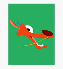 Mushu Photographic Print