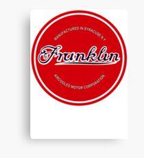 Franklin Engine Company Logo Canvas Print