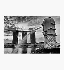 Merlion Photographic Print
