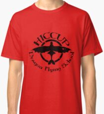 Hiccup's Dragon Flying School Classic T-Shirt