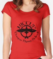 Hiccup's Dragon Flying School Women's Fitted Scoop T-Shirt