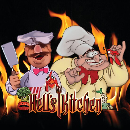 Hell's Kitchen by Tanya Ziegler