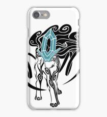 Tribal Suicune - Black iPhone Case/Skin