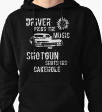 Sudadera con capucha El conductor elige la música