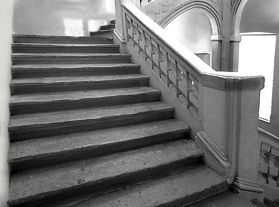 17c Stairs Montpellier France by Paul Pasco