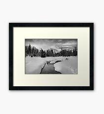 Winter land III Framed Print