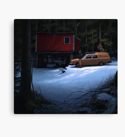 Skogverkstaden Canvas Print